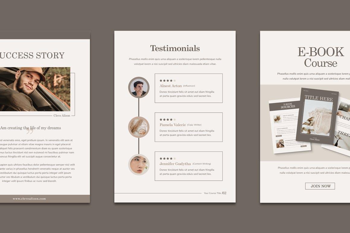 教练手册课程创建模板designshidai_zazhi022