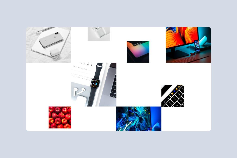 时尚高端清新简约多用途着陆页banner详情页设计模板集合designshidai_ui122
