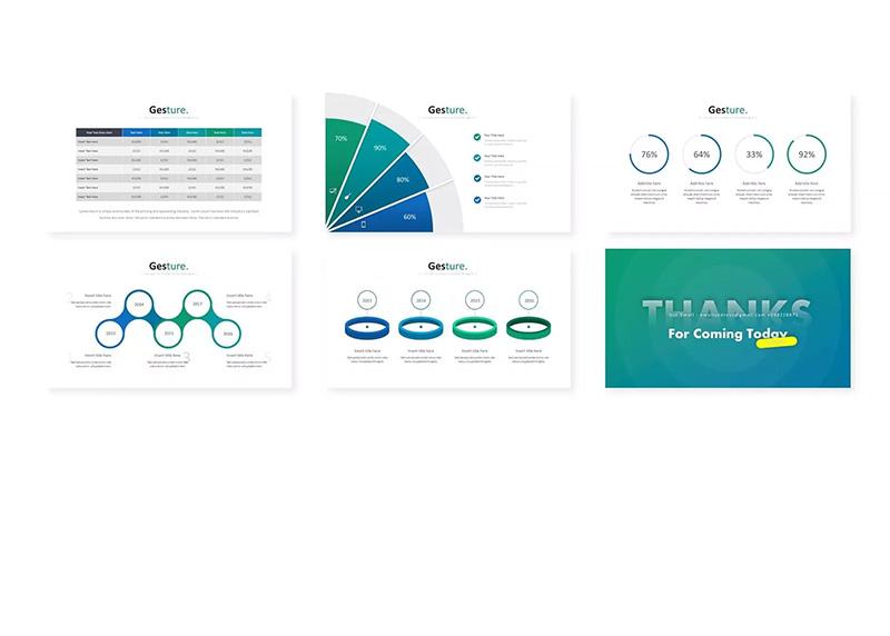 创意设计师个人展示PPT幻灯片模板designshidai_ppt062