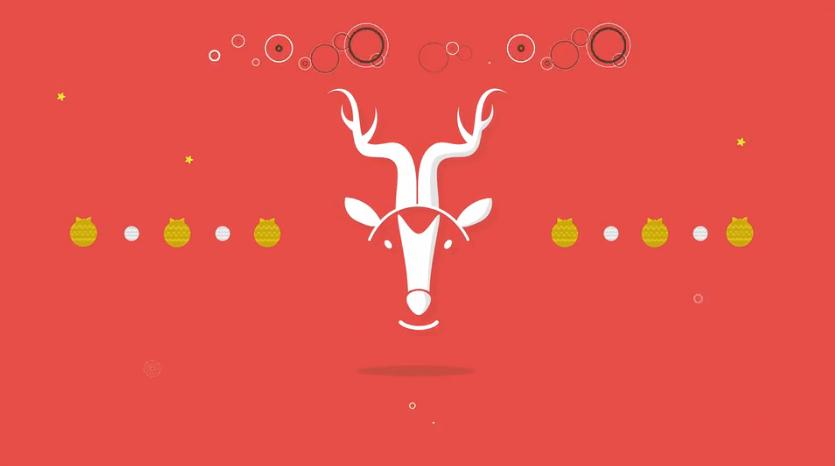 冬季圣诞新年问候开场视频ae素材designshidai_video0036