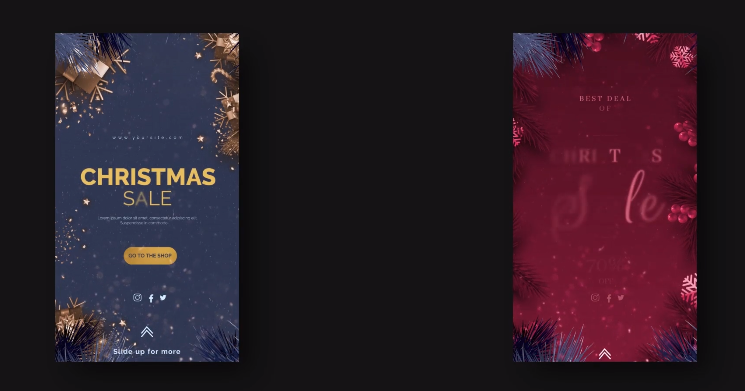 Instagram圣诞节业务促销广告视频AE模板designshidai_video0002