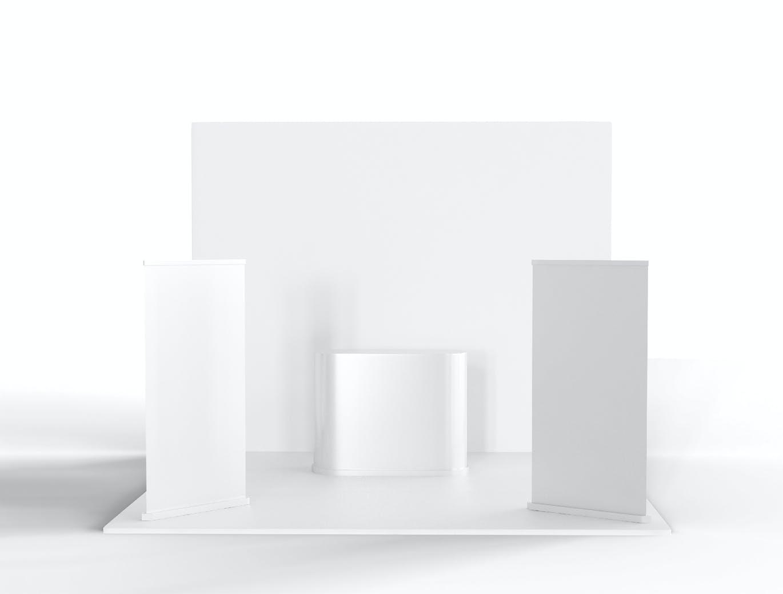 实用的展会设计简单展台设计样机designshidai_yj384