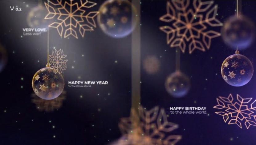 透明圣诞球&雪花元素圣诞晚会派对邀请视频ae素材designshidai_video0033