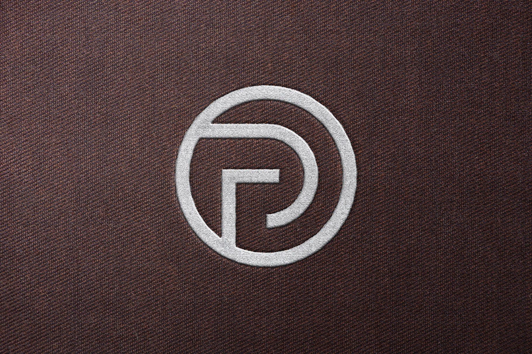 缝纫刺绣logo展示样机designshidai_yj410