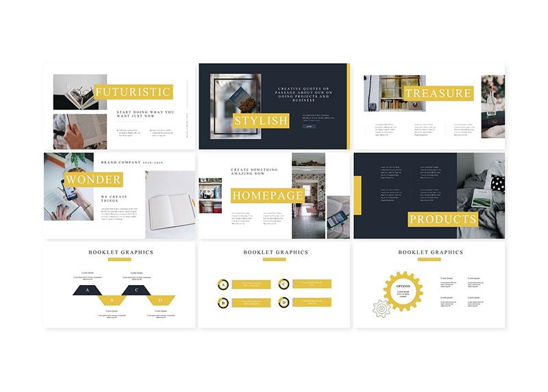 现代简约风格个人介绍PPT模板designshidai_ppt028