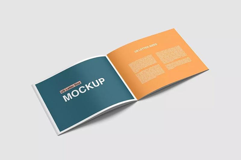 橙色主题公司简介/企业宣传画册排版设计模板 Company Profile designshidai_zhazhi001