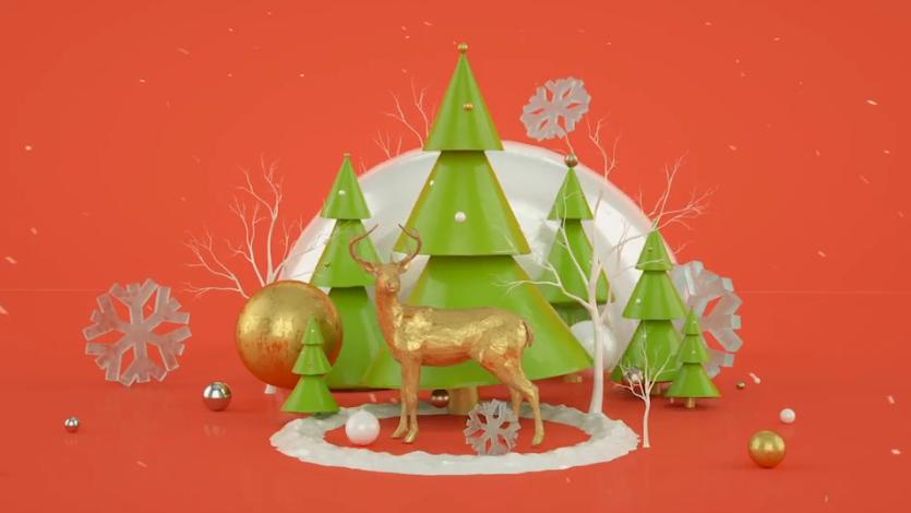 2020-2022冬季圣诞节梦幻场景问候视频ae素材designshidai_video0059