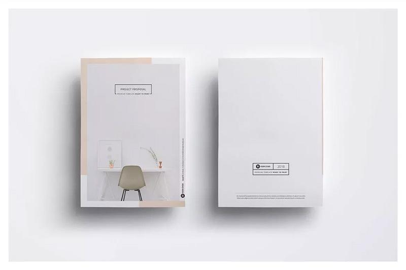 项目提案项目建议书版式设计模板designshidai_zazhi011