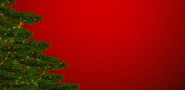 圣诞树卡片设计背景designshidai_beijing48