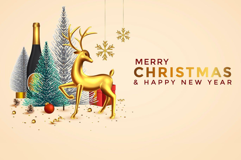 时尚清新好用的2021新年圣诞节背景底纹纹理背景集合designshidai_beijing63