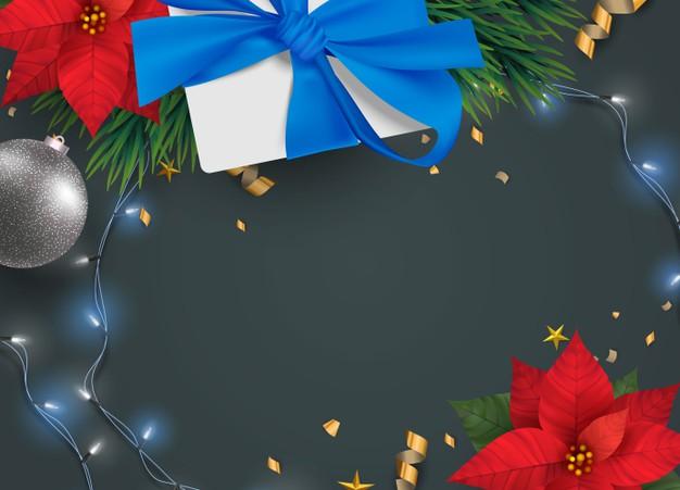 圣诞主题框架背景designshidai_beijing66