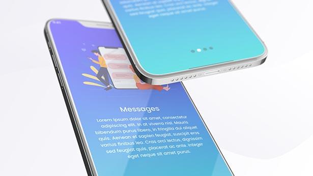 iPhone12手机App应用促销演示视频AE模板designshidai_video0070