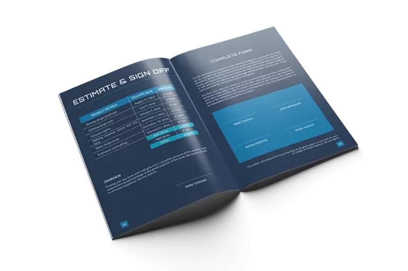 现代版式设计项目建议书/提案模板designshidai_zhazhi005