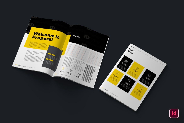 时尚高端简约多用途的品牌手册画册宣传册杂志房地产楼书设计模板designshidai_zazhi016