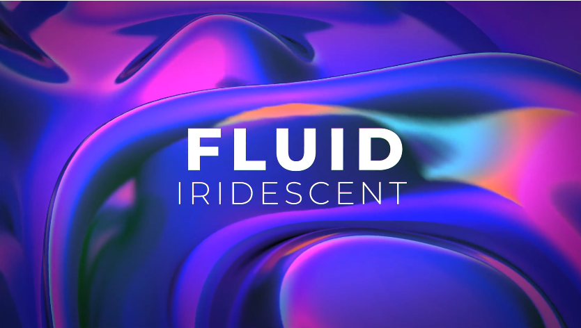 6个3D流体多彩炫酷的标题&背景视频AE素材designshidai_video0067