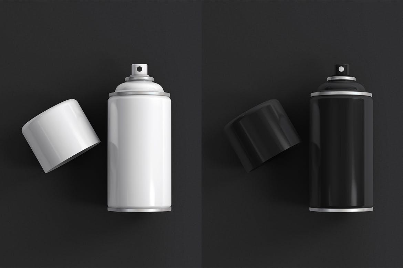 气溶胶喷雾罐设计样机designshidai_yj408