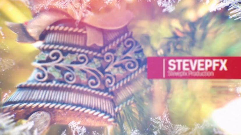 冬季/圣诞/新年相册幻灯片视频AE模板designshidai_video0029