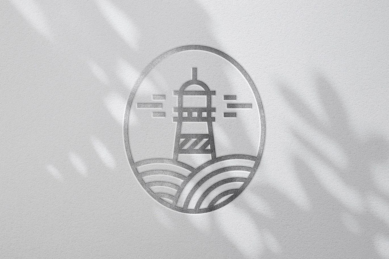 高品质的黄金和白银logo标志设计VI样机展示模型mockups designshidai_yj427