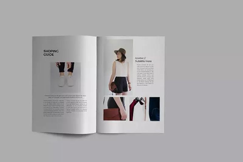 时装行业项目调研方案/项目计划书版式设计模板designshidai_zhazhi004