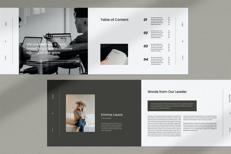 时尚高端简约专业多用途的高品质品牌手册画册宣传册杂志房地产楼书设计模板designshidai_zazhi032