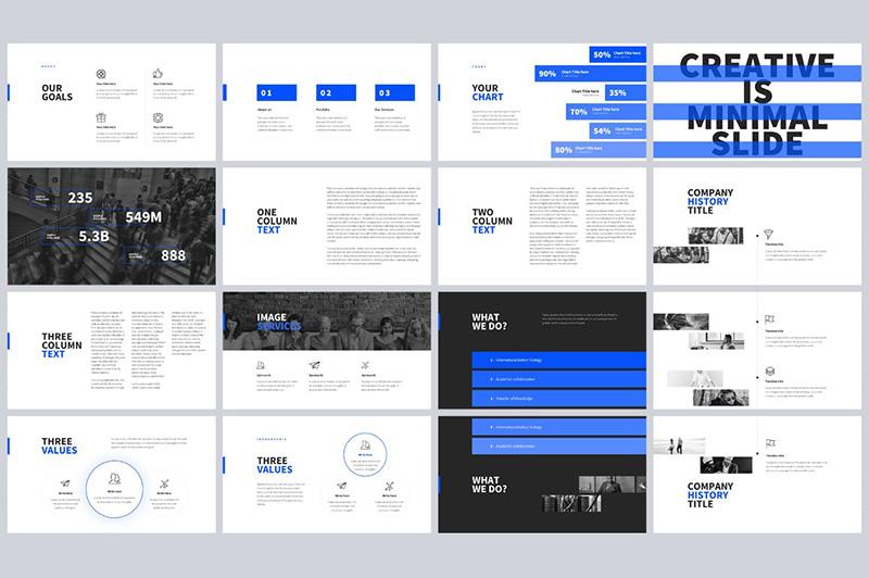 黑白大气欧美风自我介绍PPT模板designshidai_ppt023