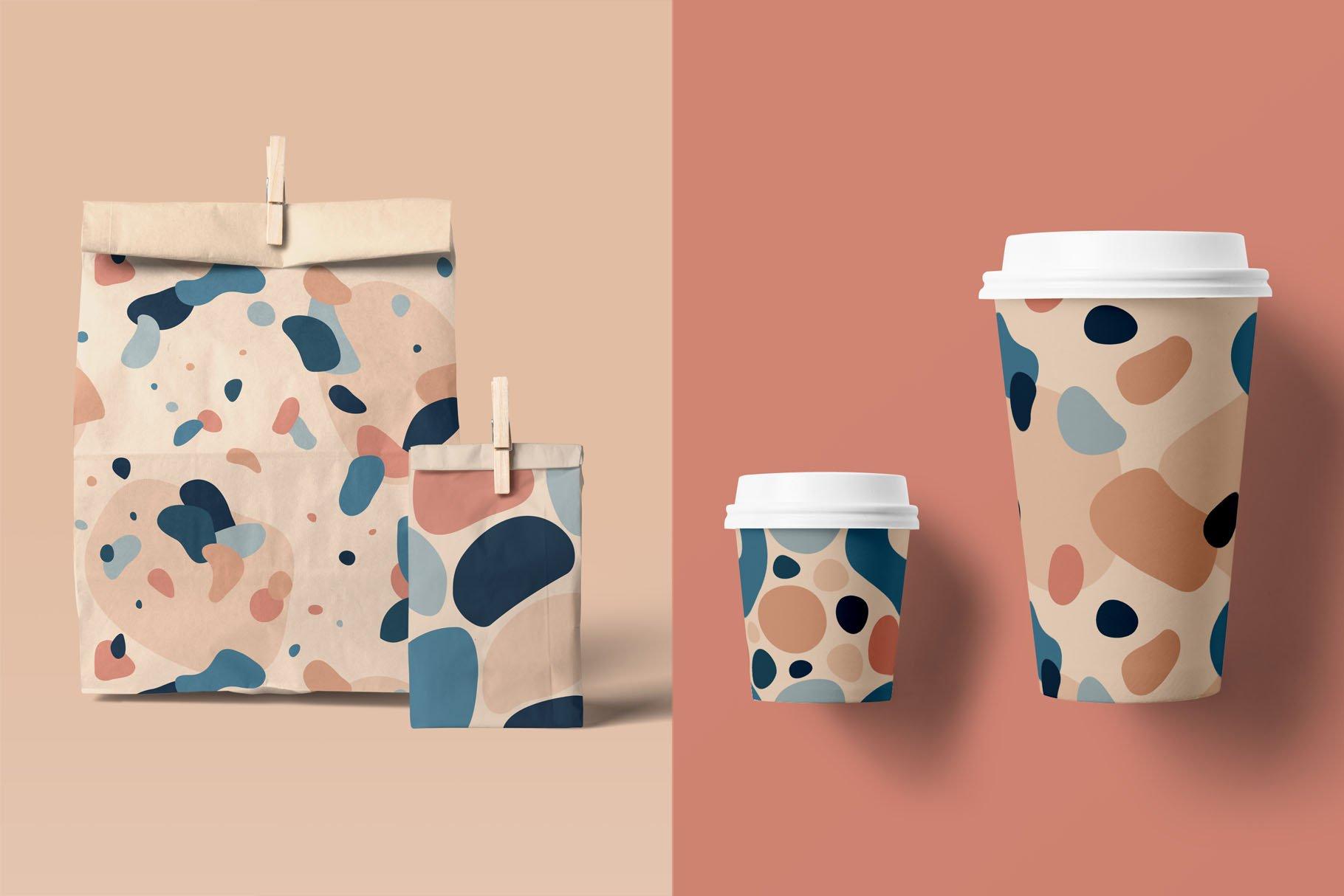 抽象有机形状无缝图案素材designshidai_beijing92