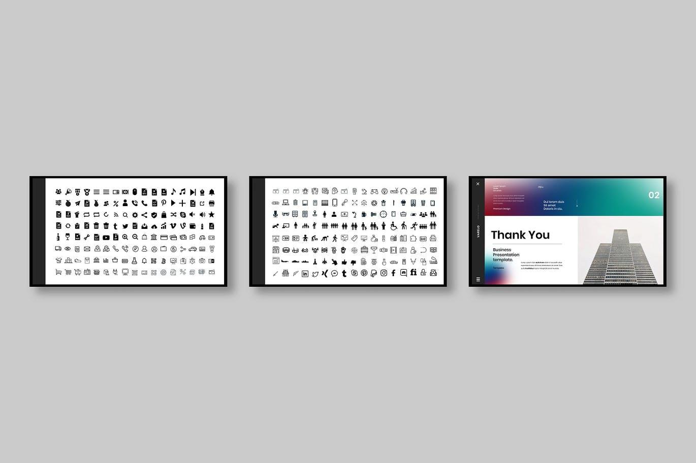 时尚高端专业商业商务powerpoint幻灯片演示模板designshidai_ppt092