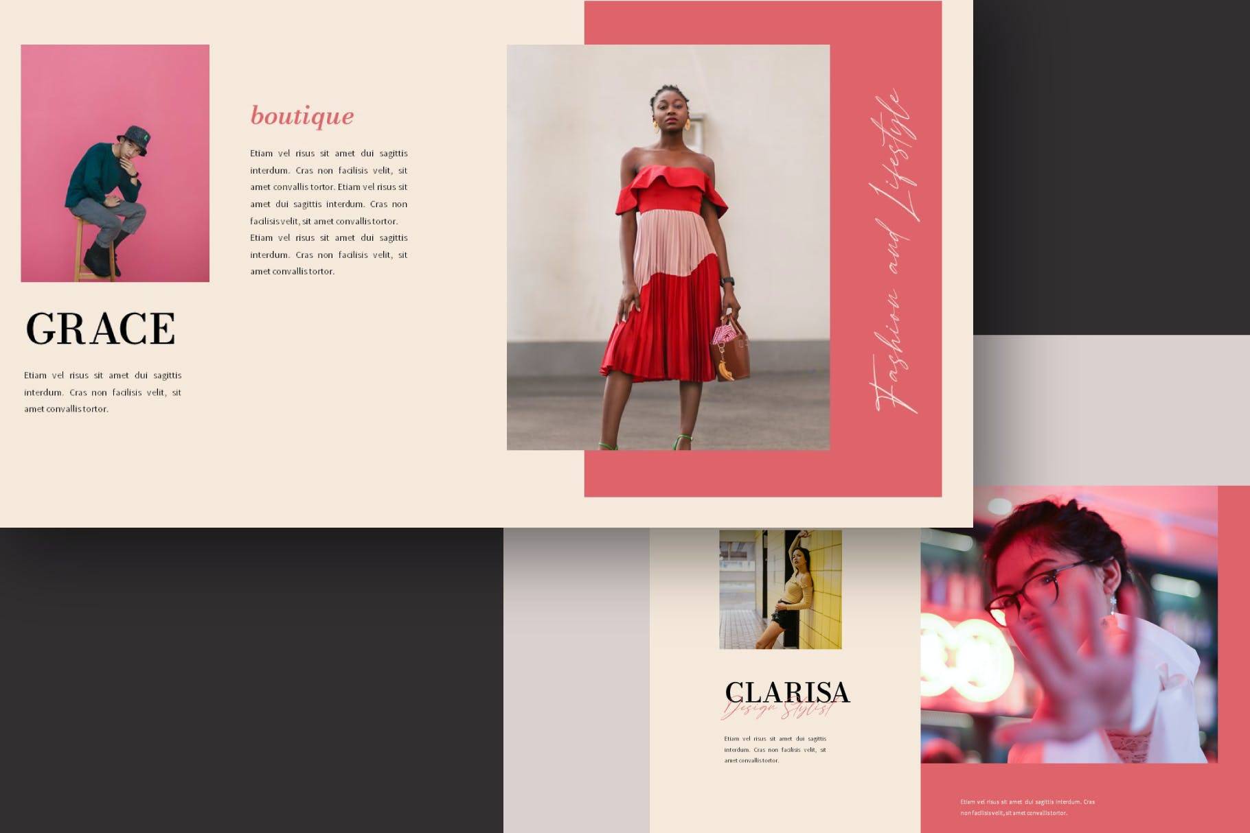 时尚简约的PPT模板下载designshidai_ppt0116