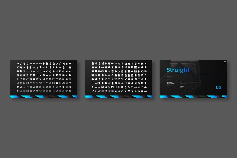 高端商业商务配色powerpoint幻灯片演示模板designshidai_ppt0132