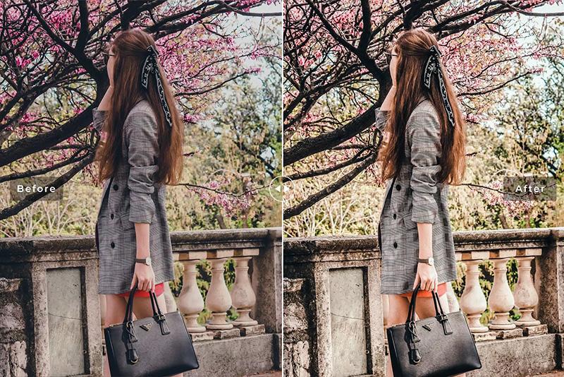 唯美褪色效果低对比度美丽色调Lightroom预设designshidai_Lryushe039