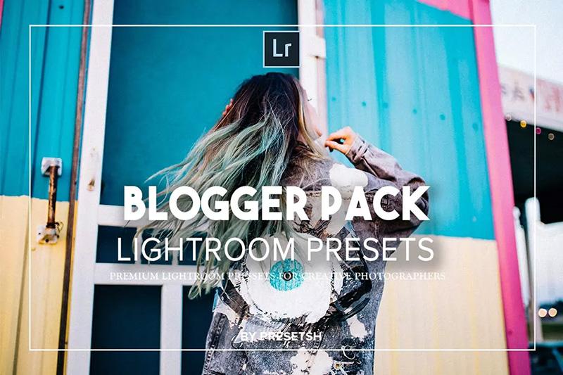 潮流时尚博主/个人博客人物肖像摄影Lightroom预设 Blogger lightroom presets designshidai_Lryushe017