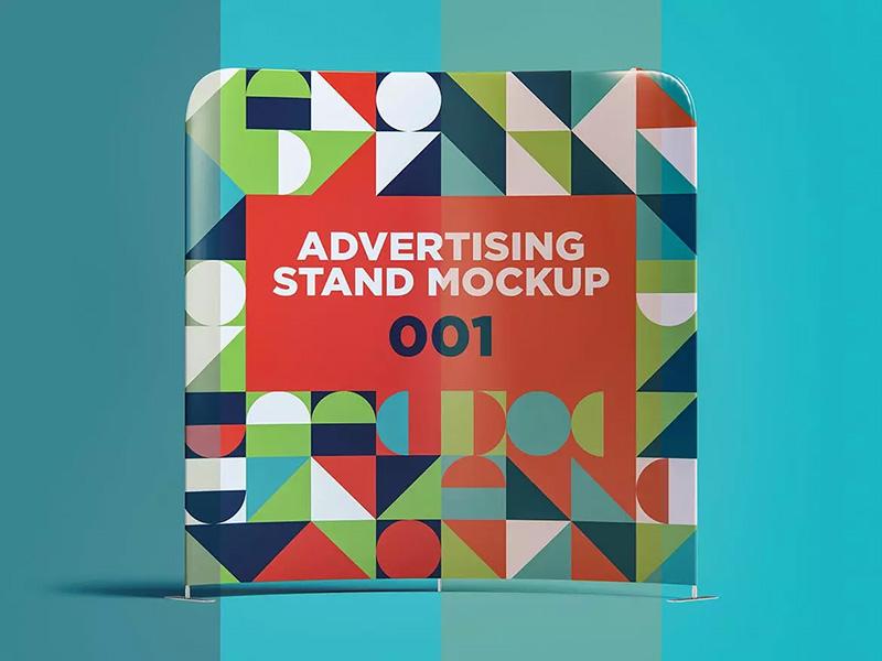广告架广告设计展示样机模板designshidai_yj450