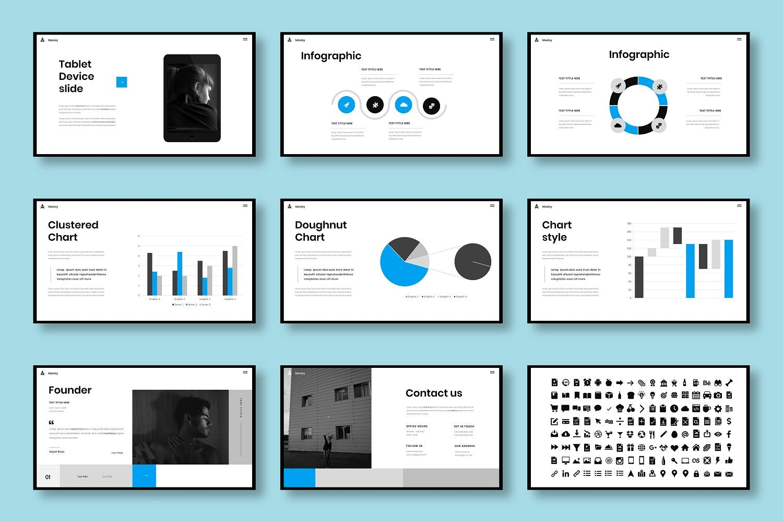 高端企业PPT设计模板下载designshidai_ppt079