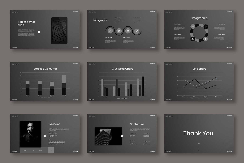 酷炫品牌业务演示文稿模板designshidai_ppt0136