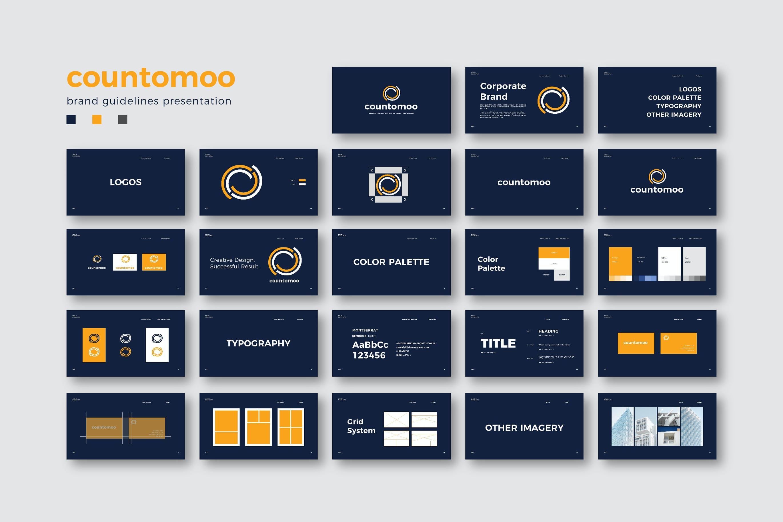高端品牌指导方针PPT模板designshidai_ppt0103