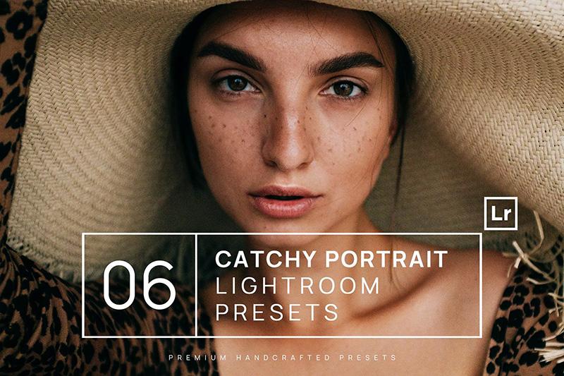6款时尚人物肖像照片后期处理滤镜Lightroom预设designshidai_Lryushe033