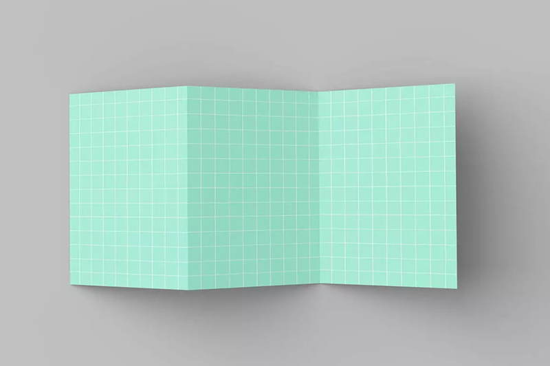 A5三折页宣传单设计样机designshidai_yj479