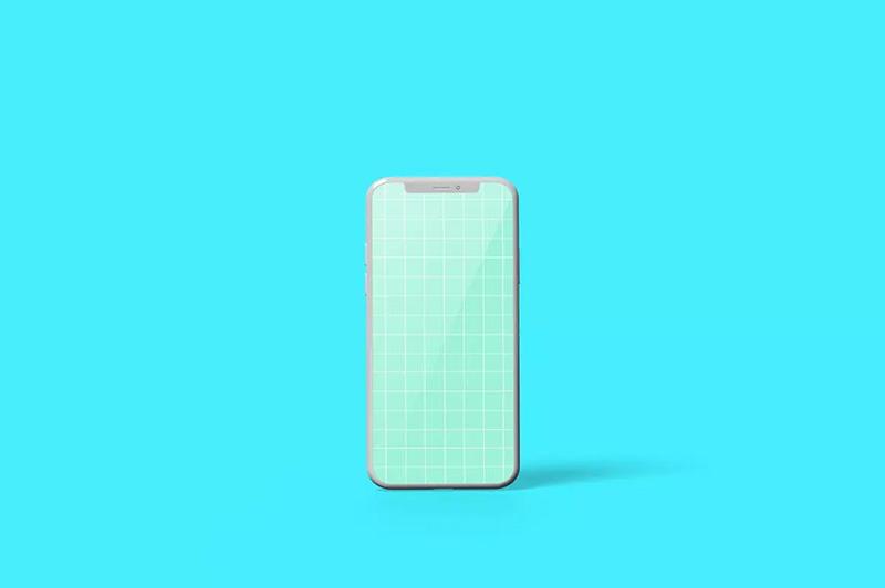 苹果iphone智能手机样机模板designshidai_yj445