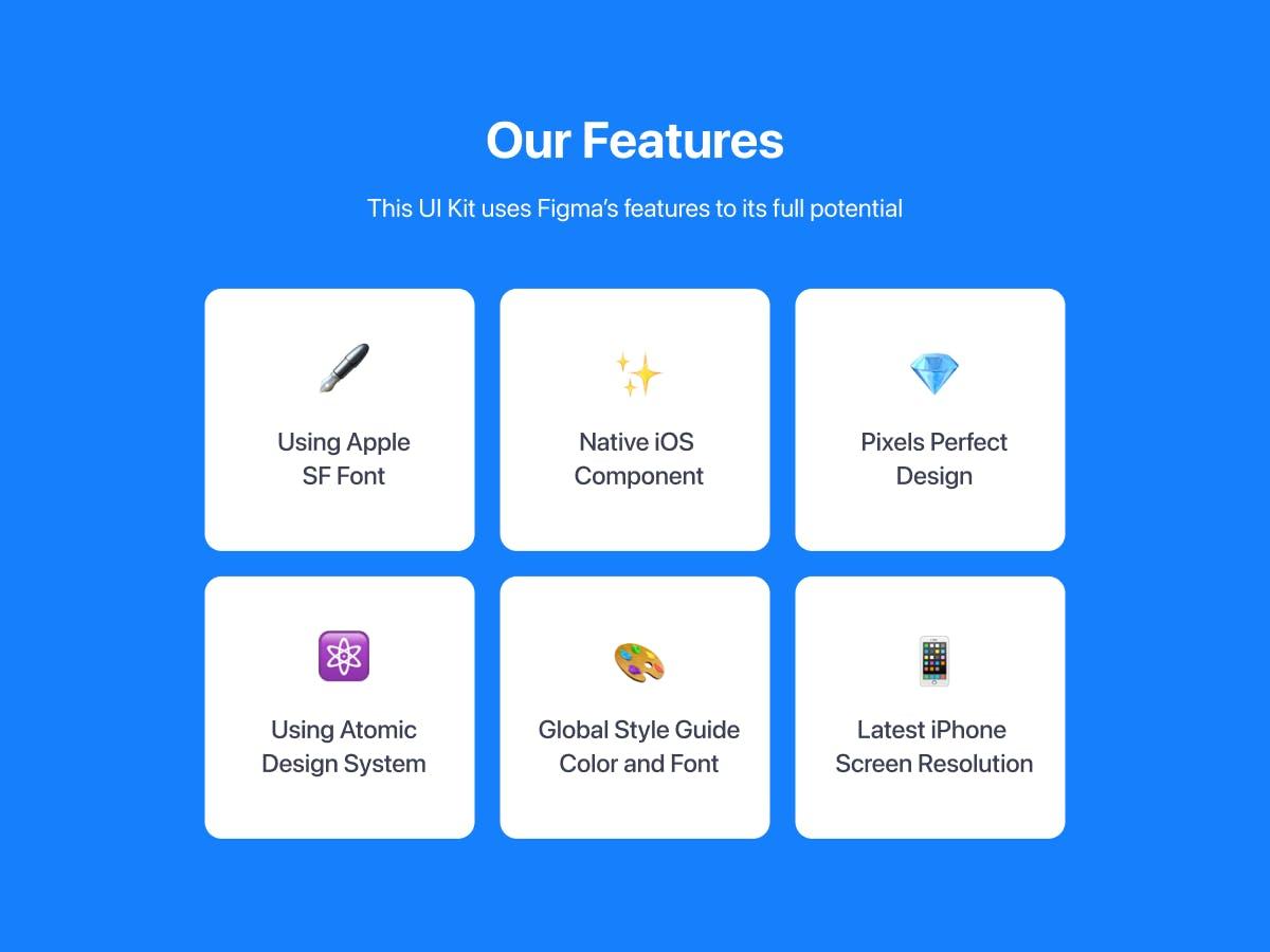 iOS 常用多功能 APP UI组件库 designshidai_ui155