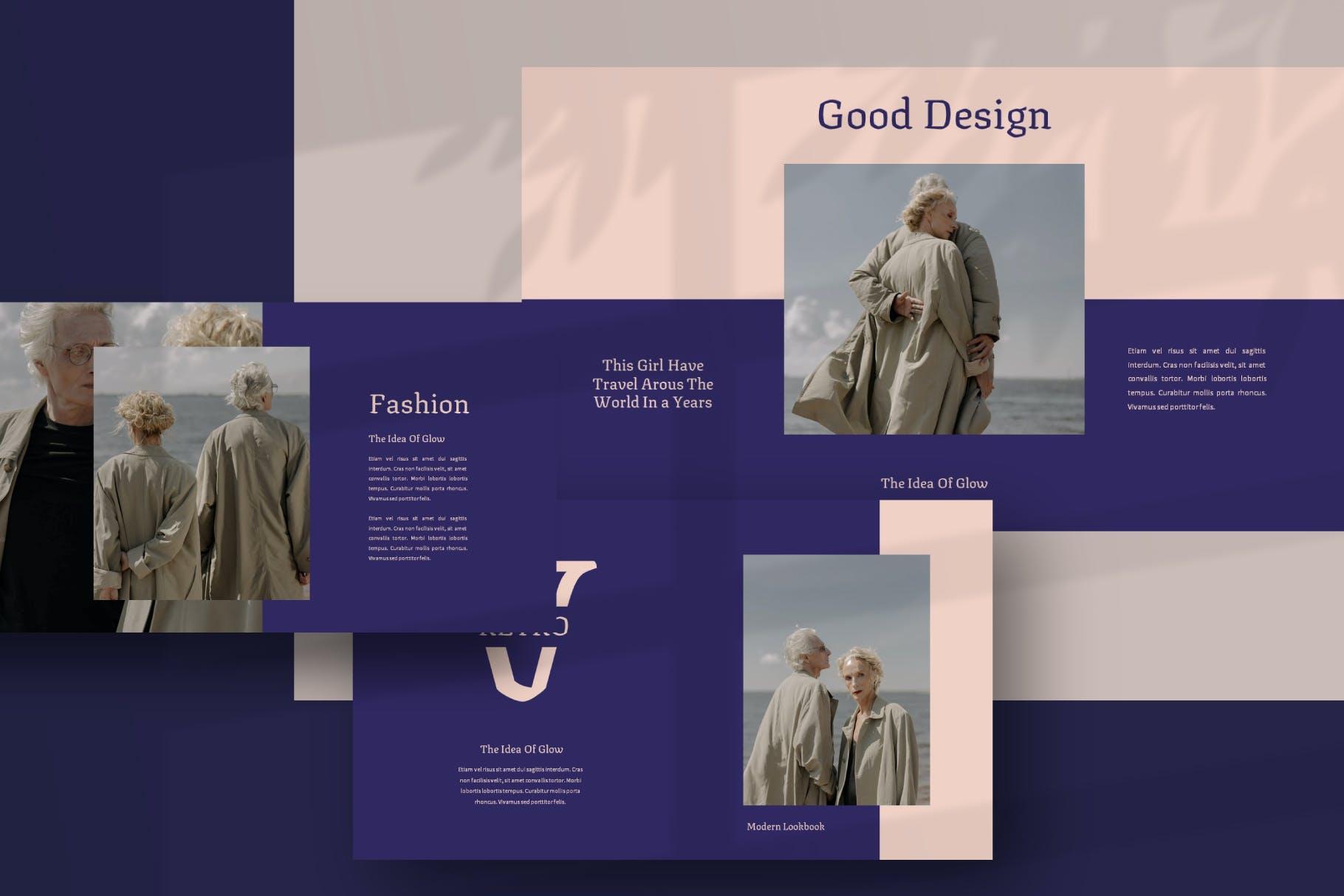 特别精美+时尚的PPT模板designshidai_ppt0119