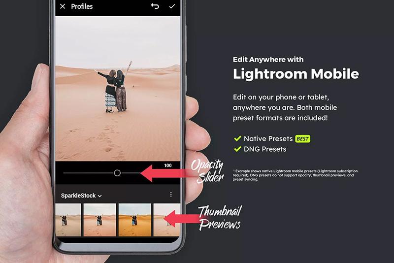 20款高级质感沙漠系列LR预设滤镜调色designshidai_Lryushe006
