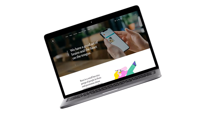 极简主义的Macbook笔记本电脑样机套件designshidai_yj440