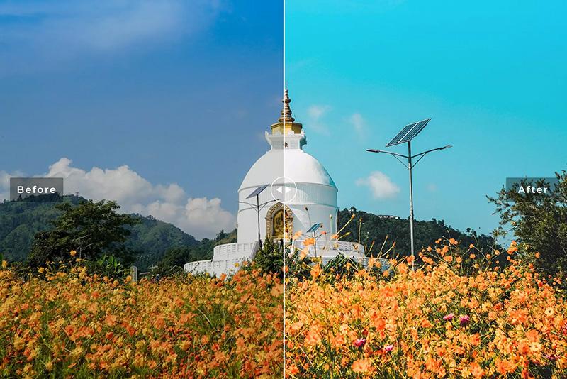 温馨小清新浪漫橘色调生活方式摄影LR预设 Pokhara Mobile & Desktop Lightroom Presets designshidai_Lryushe020