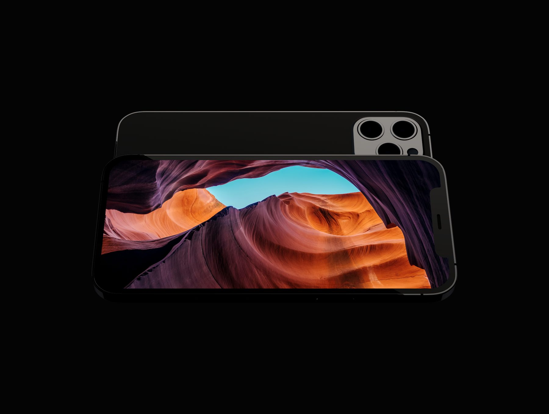 高端苹果手机iPhone 12 Pro 极品多角度高质量高精度手机样机designshidai_yj520