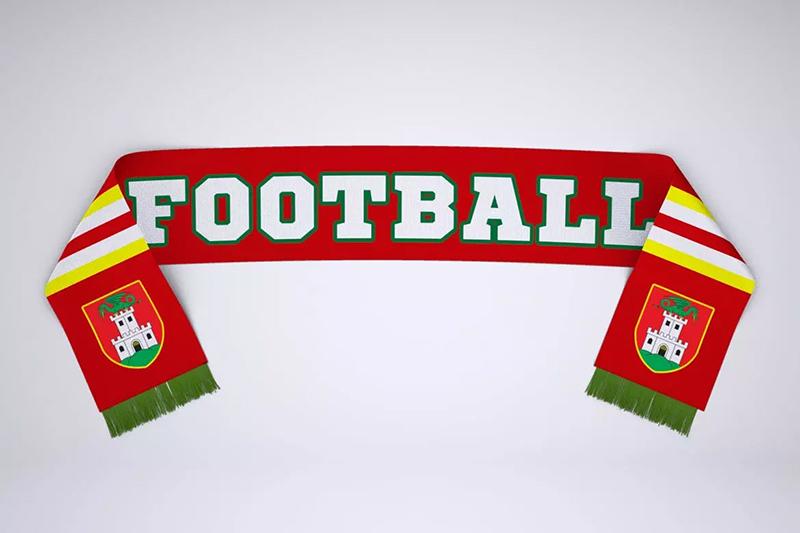 足球球迷围巾定制设计样机模板designshidai_yj513