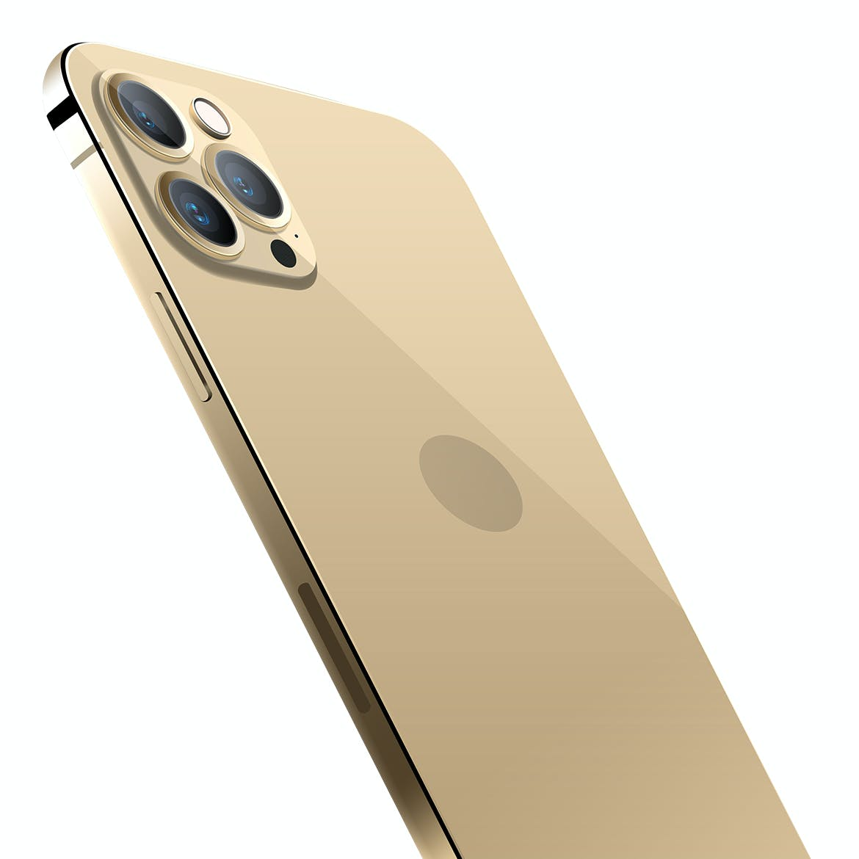 iPhone 12 Pro 金色高品质手机样机下载designshidai_yj552