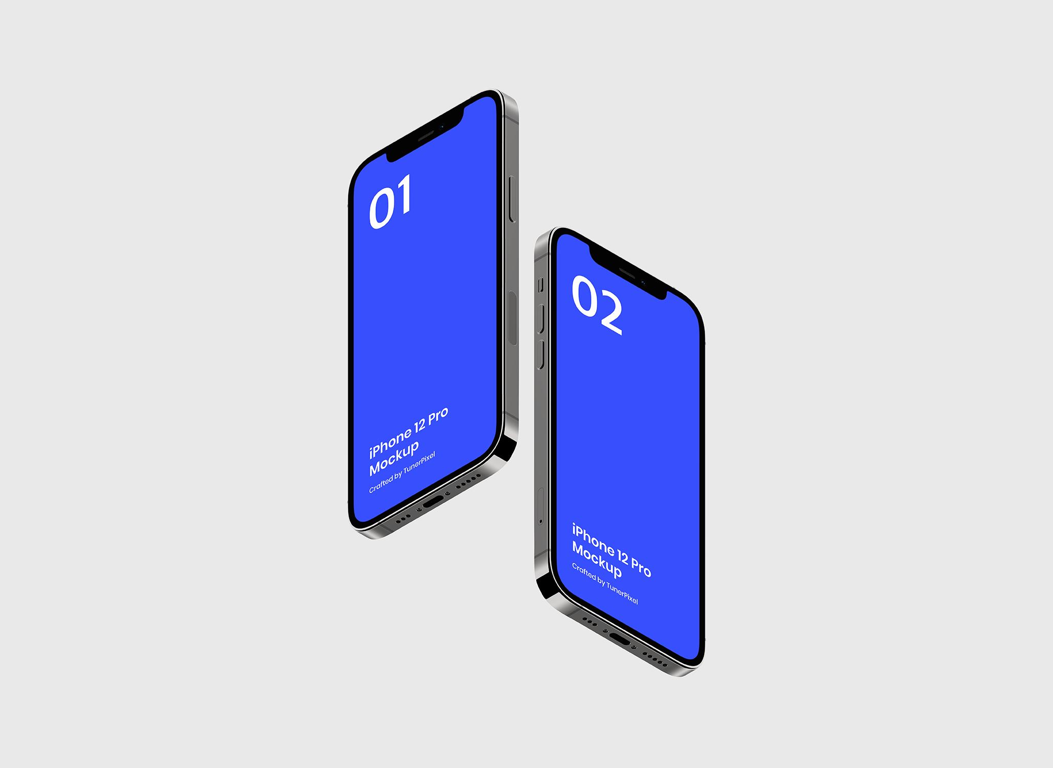 iPhone 12 Pro应用程序模型designshidai_yj526