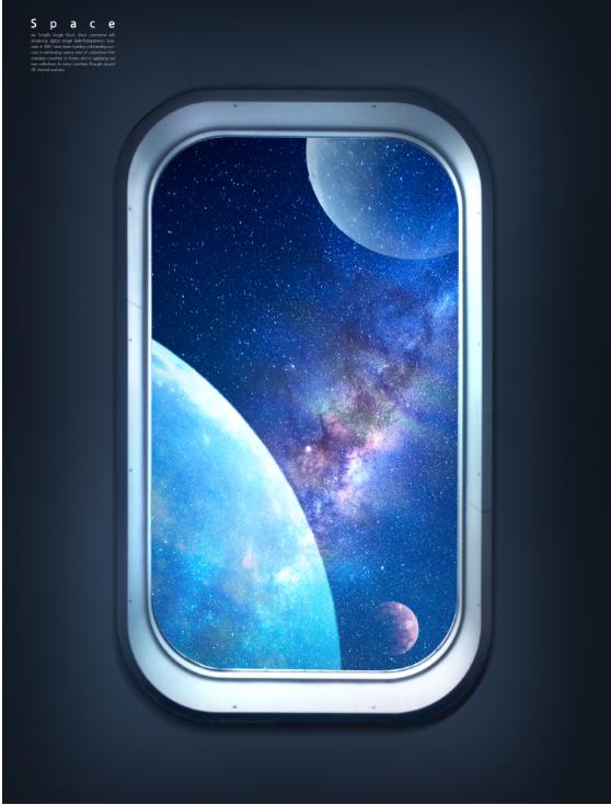 飞机窗户外太空背景图素材designshidai_beijing116