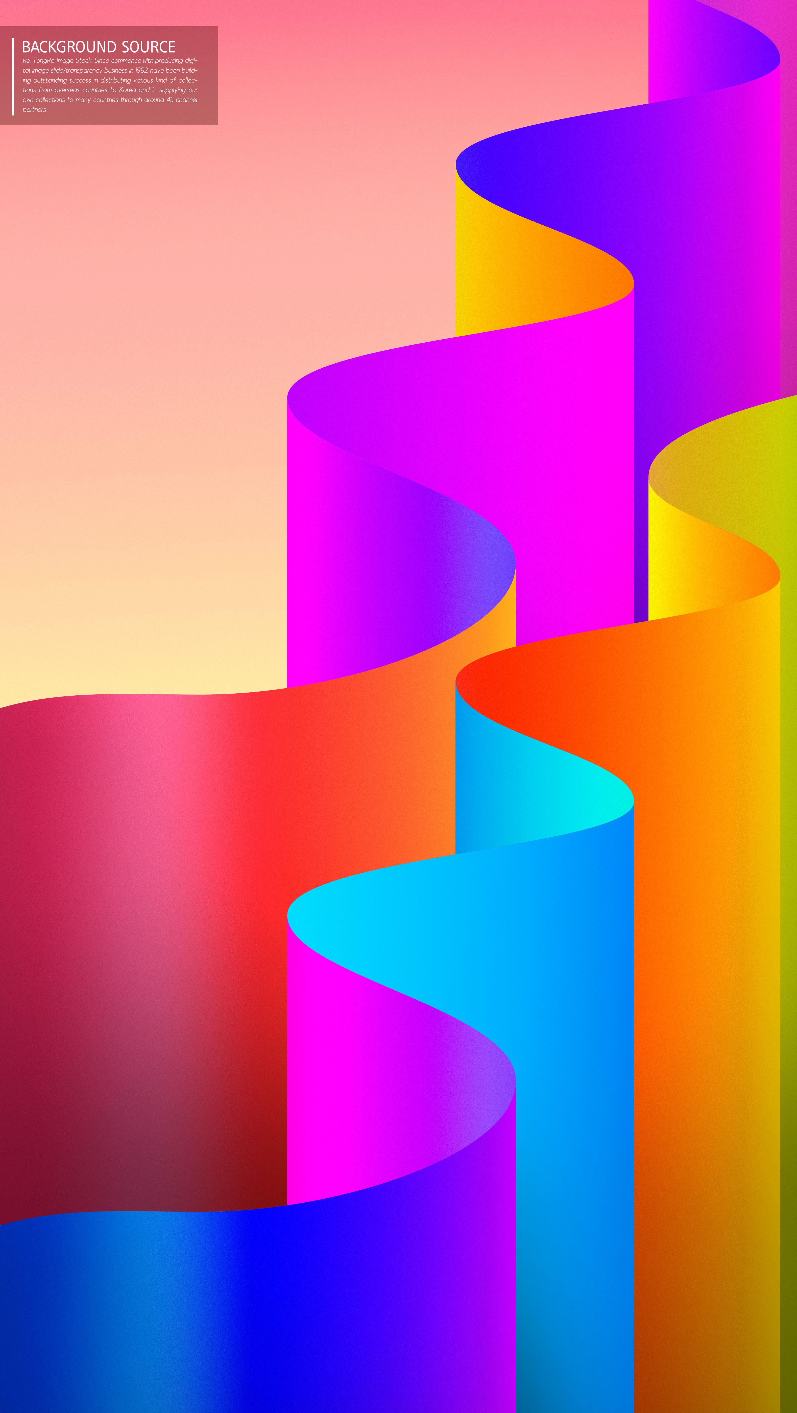 渐变波浪3D立体抽象背景图形设计psd素材designshidai_beijing129