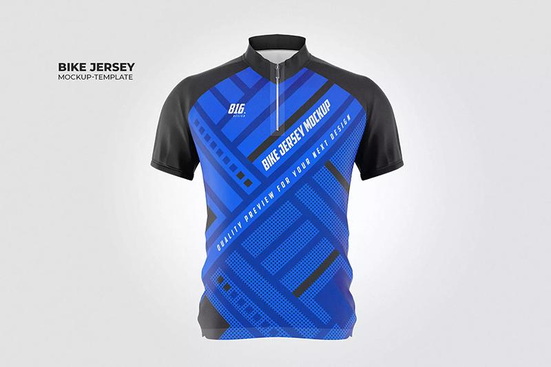 自行车运动衫设计样机designshidai_yj519
